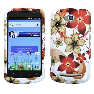 Insten® Protector Cover For Coolpad Quattro 4G, Hibiscus