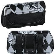 Insten® Argyle Horizontal Pouch, (8215SA) Skull Wing Roller