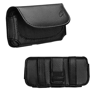 Insten® Horizontal Holster Pouch Case For Alcatel OneTouch Premiere ADR3035, Black