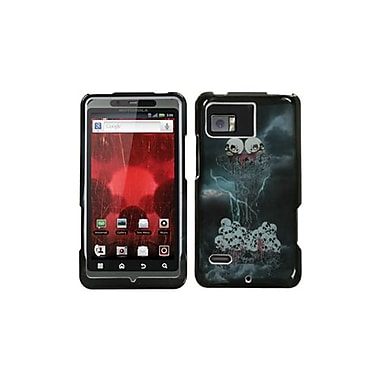 Insten® Faceplate Case For Motorola XT875 Droid Bionic, Horror