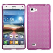 Insten® Protector Case For LG Optimus 4X HD P880, Hot-Pink