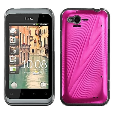 Insten® Back Protector Cover For HTC ADR6330 Rhyme, Hot-Pink Cosmo