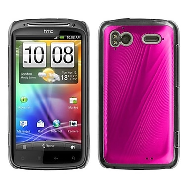 Insten® Back Protector Case For HTC Sensation 4G, Hot-Pink Cosmo