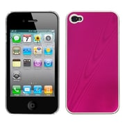 Insten® Cosmo Back Protector Cover F/iPhone 4/4S, Hot-Pink