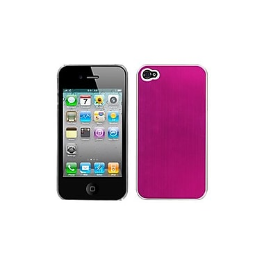 Insten® Cosmo Back Protector Cover W/Warp Speed For iPhone 4/4S, Hot-Pink