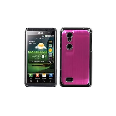 Insten® Warp Speed Back Protector Cover For LG P925 Thrill 4G, Hot-Pink Cosmo