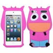 Insten® Cow Pastel Skin Cover For iPod Touch 5th Gen, Hot-Pink