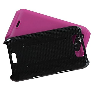 Insten® Protector Cover For LG MS840 Connect 4G/LS840 Viper, Hot-Pink Inverse