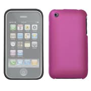 Insten® Phone Protector Cover W/Lens F/iPhone 3G/3GS, Hot-Pink