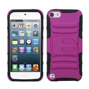 Insten® Advanced Armor Stand Protector Cover For iPod Touch 5th Gen, Hot-Pink/Black