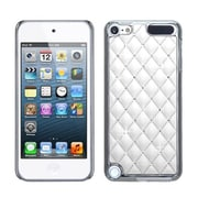 Insten® Alloy Diamond Luxurious Lattice Phone Protector Cover For iPod Touch 5th Gen, White