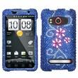 Insten® Diamante Protector Case For HTC EVO 4G, Juicy Flower