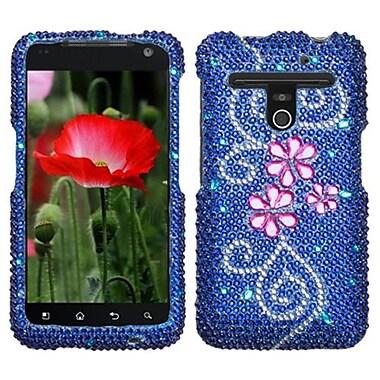 Insten® Diamante Protector Cover For LG VS910 Revolution/Esteem, Juicy Flower