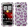 Insten® Diamante Protector Cover For HTC Incredible 4G,