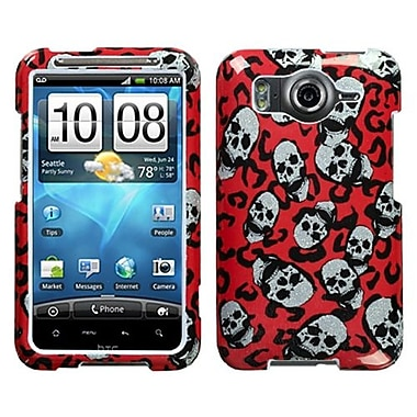 Insten® Faceplate Case For HTC Inspire 4G, Leopard Skulls Sparkle