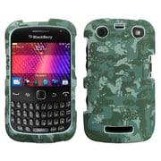 Insten® Lizzo Digital Phone Protector Case For RIM BlackBerry 9360/9350/9370, Camo/Green