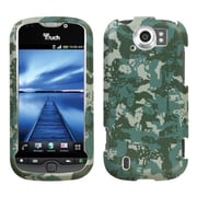 Insten® Protector Case For HTC myTouch 4G Slide, Camo/Green Lizzo Digital
