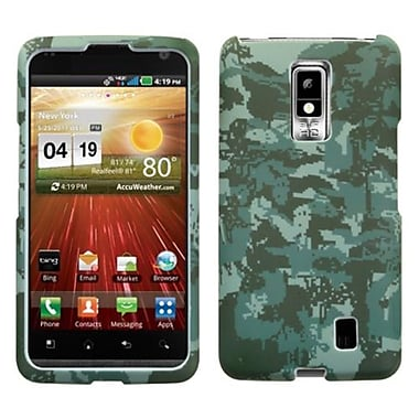 Insten® Protector Case For LG VS920 Spectrum, Lizzo Digital Camo/Green