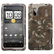 Insten® Protector Case F/HTC Hero 4G/Kingdom/ADR6285 Hero S/EVO Design 4G, Camo/Yellow Lizzo Digital
