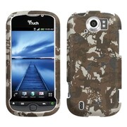 Insten® Protector Case For HTC myTouch 4G Slide, Lizzo Digital Camo/Yellow