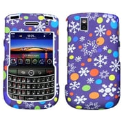 Insten® Argyle Phone Protector Cover For BlackBerry 9650/9630, Lizzo Flake Purple