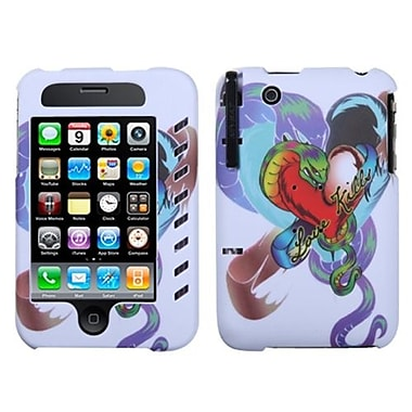 Insten® Phone Protector Case W/Stylus For iPhone 3G/3GS, Lizzo Snake Tattoo