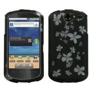 Insten® Phone Protector Case For Huawei U8800 Impulse 4G, Lizzo Wintersweet 2D Silver