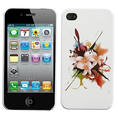 Insten® Phone Back Protector Cover F/iPhone 4/4S, Lotus Splash