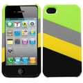 Insten® MyColor Splash 005 Protector Cover For iPhone 4/4S