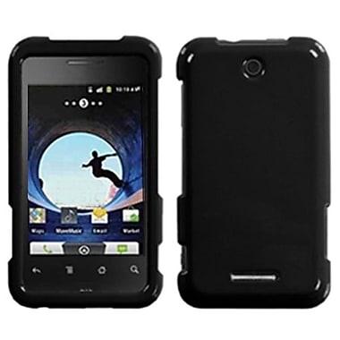 Insten® Faceplate Case For ZTE X500 Score, Natural Black