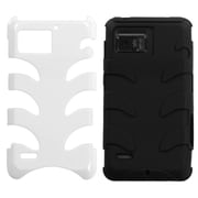 Insten® Protector Case For Motorola XT875 Droid Bionic, Natural Ivory White Fishbone