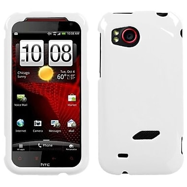 Insten® Protector Case For HTC ADR6425 Rezound, Natural Ivory White