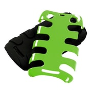 Insten® Fishbone Phone Protector Cover For BlackBerry 9360/9370, Natural Pearl Green/Black