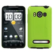 Insten® Protector Case For HTC EVO 4G, Natural Pearl Green/Black Fusion