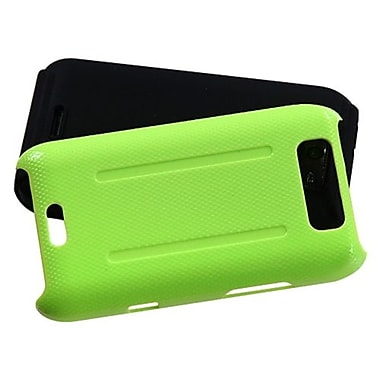 Insten® Protector Cover For LG MS840 Connect 4G/LS840 Viper, Natural Pearl Green/Black Fusion