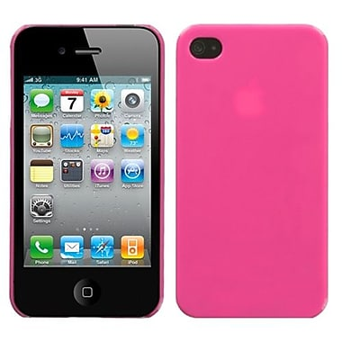 Insten® Phone Back Protector Cover F/iPhone 4/4S, Natural Pink