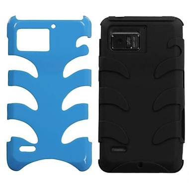 Insten® Protector Case For Motorola XT875 Droid Bionic, Natural Turquoise Fishbone