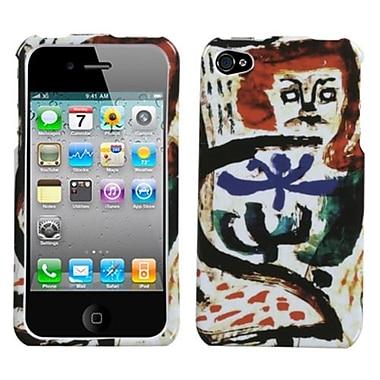 Insten® Phone Protector Cover F/iPhone 4/4S, Oriental Art