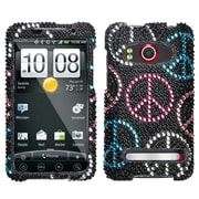 Insten® Diamante Protector Case For HTC EVO 4G, Peace