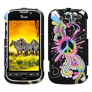 Insten® Protector Case For HTC myTouch 4G, Peace Pop