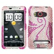 Insten® Diamante Protector Case For HTC EVO 4G, Phoenix Tail