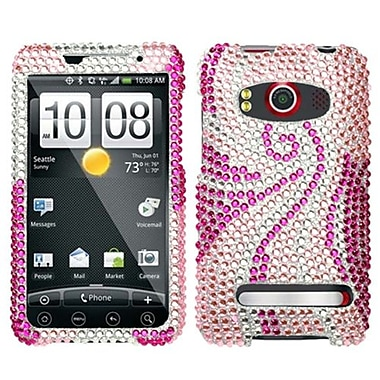Insten® Diamante Protector Case For HTC EVO 4G, Phoenix Tail