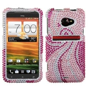 Insten® Diamante Protector Case For HTC EVO 4G LTE, Phoenix Tail
