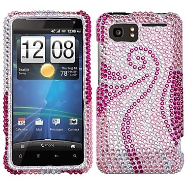 Insten® Diamante Protector Case For HTC Vivid, Phoenix Tail
