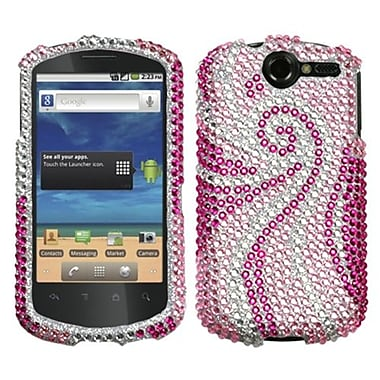 Insten® Diamante Protector Cover For Huawei U8800 Impulse 4G, Phoenix Tail