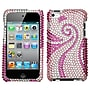Insten® Diamante Protector Cover For iPod Touch 4th