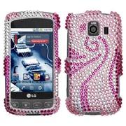 Insten® Diamante Protector Case For LG LS670 Optimus S/Optimus U/VM670 Optimus V, Phoenix Tail