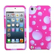 Insten® Phone Protector Case For iPod Touch 5th Gen, Pink Bigger Bubbles