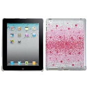 Insten® Diamante SmartSlim Back Protector Cover For iPad 2/3/4, Pink Blizzard Gem Gradients