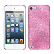 Insten® Diamante Back Protector Cover For iPod Touch 5th Gen, Pink